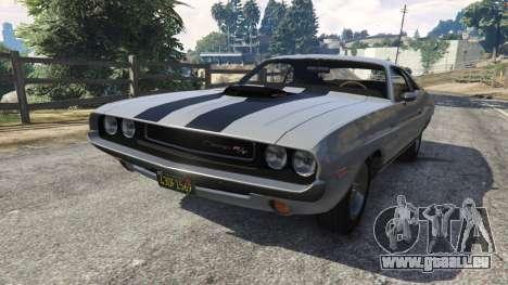 Dodge Challenger RT 440 1970 v0.8 [Beta] pour GTA 5