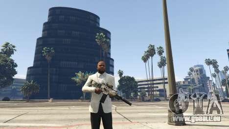 GTA 5 Battlefield 3 G36C v1.1 zweite Screenshot