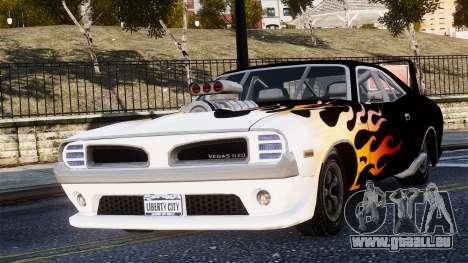 Patriot Vegas G20 Firebomb pour GTA 4 Vue arrière