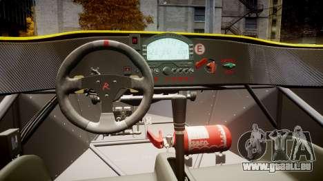 Radical SR8 RX 2011 [30] für GTA 4 Rückansicht