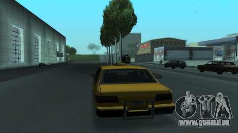 New Taxi für GTA San Andreas Innen