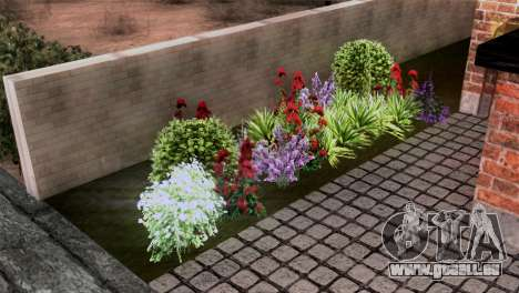 CJs New Brick House pour GTA San Andreas quatrième écran
