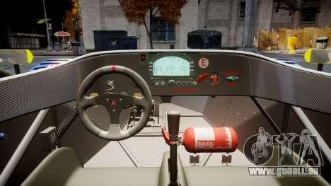 Radical SR8 RX 2011 [829] für GTA 4 Rückansicht