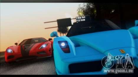 Saturation ENBSeries pour GTA San Andreas deuxième écran