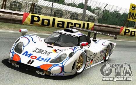 Porsche 911 GT1 1998 pour GTA 4