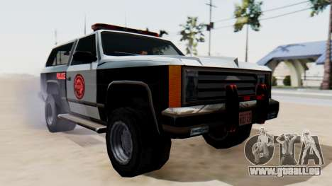 Police Ranger with Lightbars pour GTA San Andreas