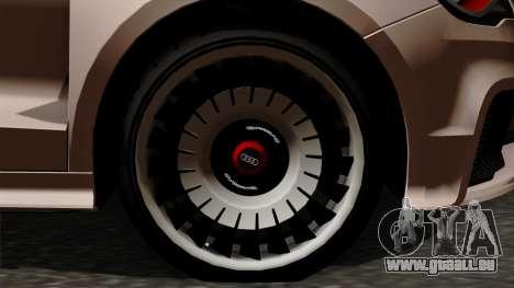 Audi A1 Quattro Clubsport pour GTA San Andreas sur la vue arrière gauche
