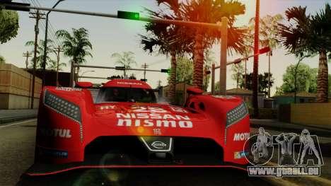 Nissan GTR LM LMP1 2015 pour GTA San Andreas