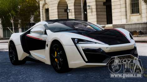 Lykan Hypersport 2015 EPM pour GTA 4