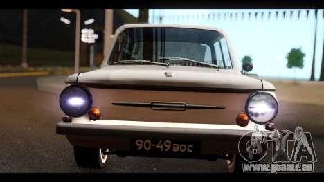 ZAZ ET pour GTA San Andreas vue de droite