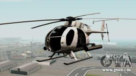 AH-6J Little Bird für GTA San Andreas