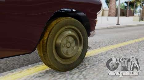 Peugeot 404 Camioneta für GTA San Andreas zurück linke Ansicht