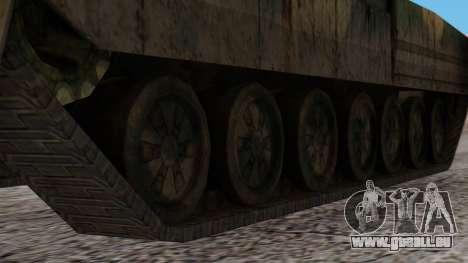 T-95 from Arctic Combat für GTA San Andreas zurück linke Ansicht