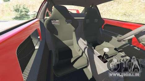 GTA 5 Ferrari F40 1987 v1.1 rechte Seitenansicht