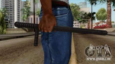 Original HD Night Stick für GTA San Andreas dritten Screenshot
