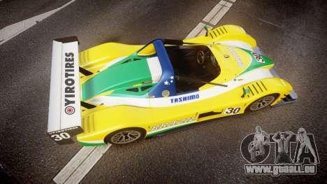 Radical SR8 RX 2011 [30] für GTA 4 rechte Ansicht