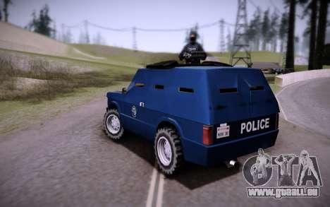 Die Gepanzerten Wagen. für GTA San Andreas linke Ansicht