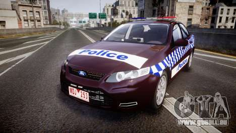 Ford Falcon FG XR6 Turbo NSW Police [ELS] v3.0 für GTA 4