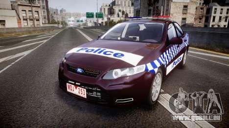 Ford Falcon FG XR6 Turbo NSW Police [ELS] v3.0 für GTA 4
