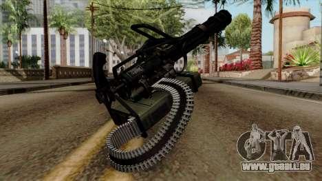 Original HD Minigun pour GTA San Andreas deuxième écran