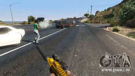 GTA 5 Le soulèvement des citoyens Chaos (Mode) 0.6.1 sixième capture d'écran