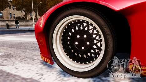 Mazda RX-7 RocketBunny EPM pour GTA 4 Vue arrière de la gauche