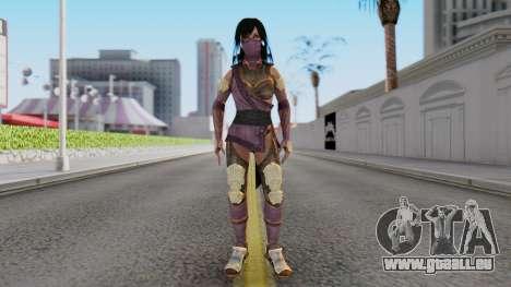 [MKX] Mileena pour GTA San Andreas deuxième écran