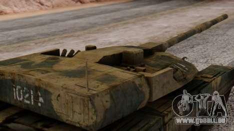 T-95 from Arctic Combat für GTA San Andreas rechten Ansicht