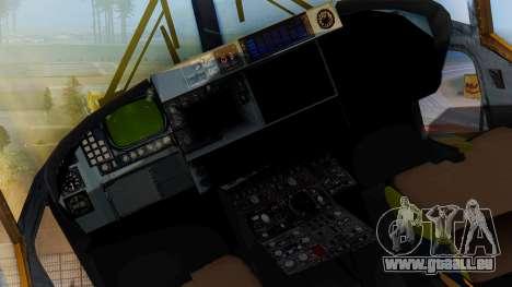 Westland SH-14D Lynx pour GTA San Andreas vue de droite