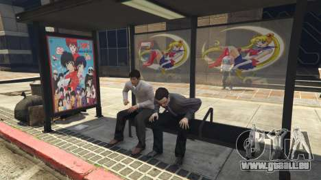 GTA 5 Downtown Anime Mod 1.3 cinquième capture d'écran
