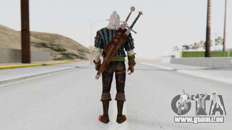 [The Witcher] Geralt pour GTA San Andreas troisième écran