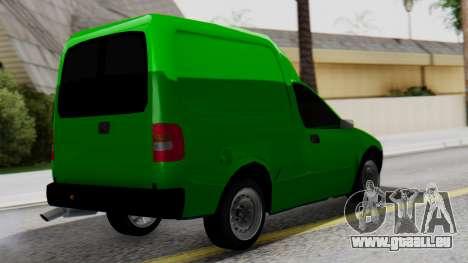 Chevrolet Combo 1.4 v2 pour GTA San Andreas laissé vue