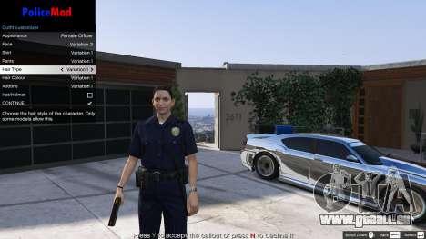 GTA 5 PoliceMod 2 2.0.2 cinquième capture d'écran