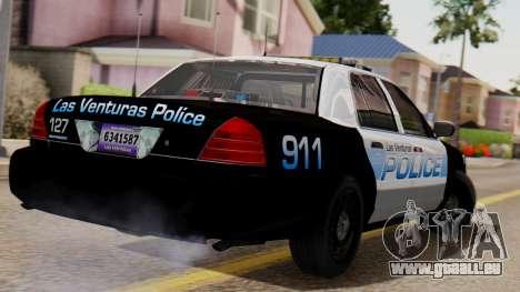 Police LV 2013 für GTA San Andreas linke Ansicht