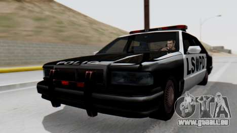 Police LS with Lightbars pour GTA San Andreas
