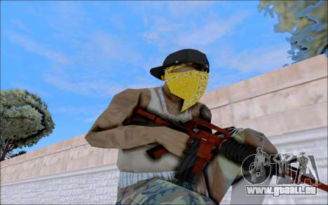 M4A1 Crimzone für GTA San Andreas her Screenshot