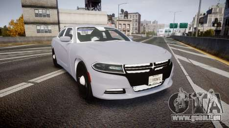 Dodge Charger 2015 Unmarked [ELS] pour GTA 4