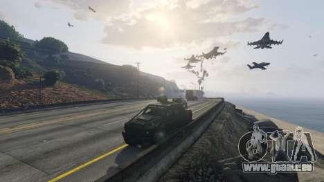 Angry Planes für GTA 5
