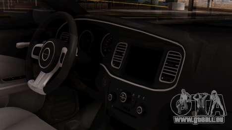 Dodge Charger SRT8 2012 LD für GTA San Andreas rechten Ansicht