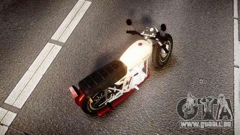 Honda CB-100 für GTA 4 hinten links Ansicht