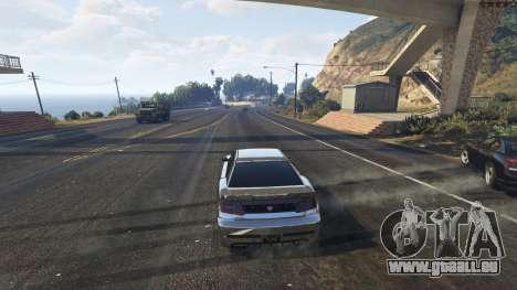 GTA 5 Spontaneous Chaos 0.08 troisième capture d'écran