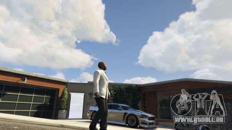 GTA 5 Butterfly Messer dritten Screenshot