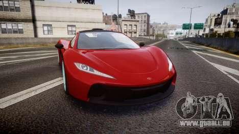 GTA V Progen T20 pour GTA 4