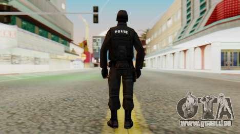 Modifié SWAT pour GTA San Andreas troisième écran