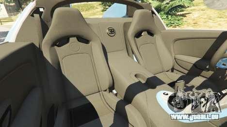 GTA 5 Bugatti Veyron Grand Sport v2.0 rechte Seitenansicht