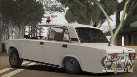 VAZ 2107 Avtosh Style pour GTA San Andreas