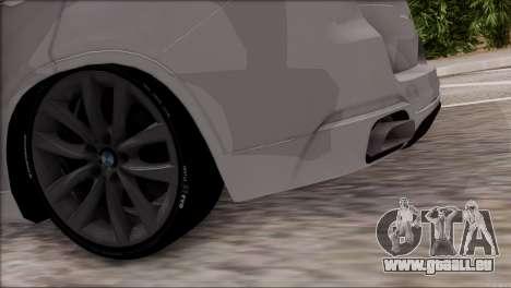 BMW X5 F15 BUFG Edition für GTA San Andreas Innenansicht