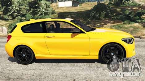 GTA 5 BMW M135i (F21) 2013 linke Seitenansicht