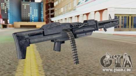 M60 pour GTA San Andreas deuxième écran