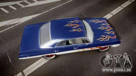Chevrolet Impala 1967 Custom livery 3 für GTA 4 rechte Ansicht